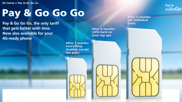 For Brits, The New 4G LTE PAYG Plans From O2 Get Better Over Time
