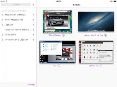 Screens VNC Client Updated With Hot Corners Support And Other Improvements