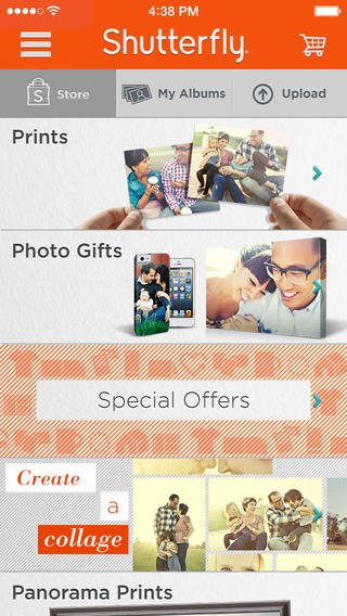 Shutterfly For iPhone Optimized For iOS 7 And Updated With New Features