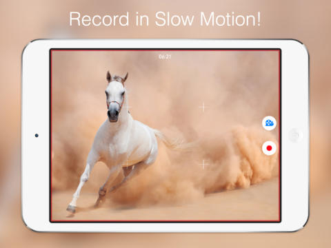 SlowCam Lets You Record Slow Motion Videos In Real Time On Any iOS 7 Device