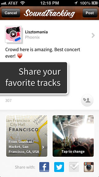 SoundTracking Updated With Mentions, Hashtag Search And Google Image Support