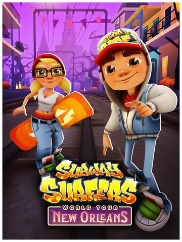 Subway Surfers Goes To America's Most Haunted City For One Spooktacular Update