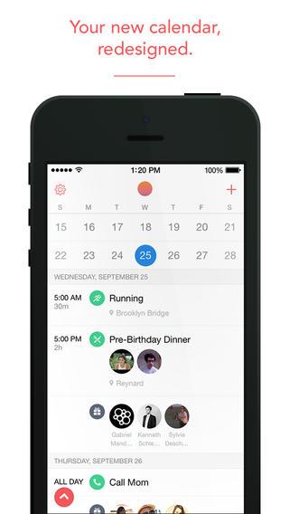 Smart Calendar Apps Sunrise, Horizon And Cal Get Major Updates For iOS 7