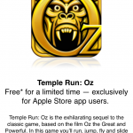 Download Temple Run: Oz For Free Right Now Through The Apple Store App