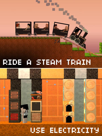 Trains, Technology And Other Electrifying Enhancements Come To The Blockheads