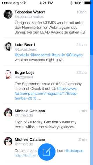 Dollarbird Creator Launches Tweet7, A Twitter App That's Truly Inspired By iOS 7
