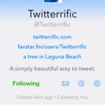 Better Late Than Never: Twitterrific Adds Support For In-App Profile Editing