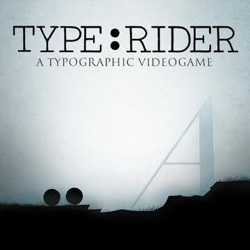 Typographic iOS Puzzle Platformer Type:Rider Coasts Into The App Store