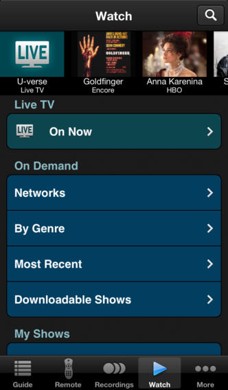 AT&T Updates U-Verse iOS Apps With Support For Watching Live TV Channels