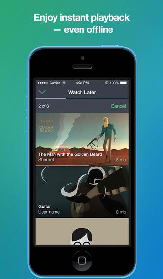 Lost And Found: Search Makes Its Comeback In Official Vimeo App For iPhone