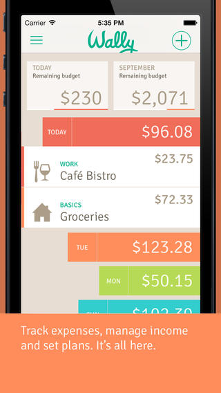 Smart Personal Finance App Wally Updated With New iOS 7 Design And New Features