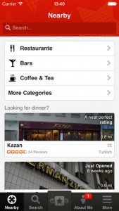 Yelp 7.2 Introduces More Streamlined Navigation Scheme And Other UI Tweaks