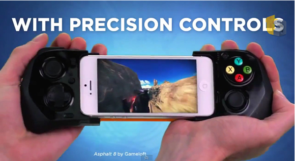 Video Appears For MOGA's Ace Power iOS 7 Game Controller