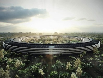 Updated: Apple's 'Spaceship Campus' Gets Closer To Landing