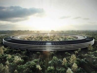 Apple CFO Peter Oppenheimer Speaks At Cupertino Press Conference For Campus 2