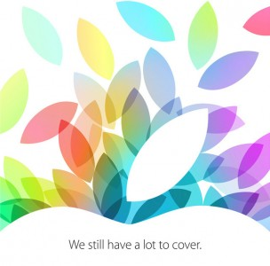 It's Official: Apple's 2013 iPad Event Will Be Held On Oct. 22