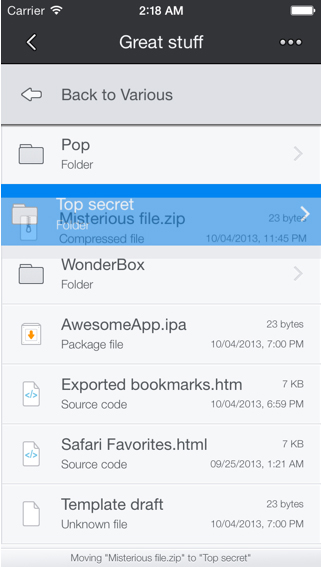 Boxie Is A Powerful And Beautiful Way To Interact With Dropbox