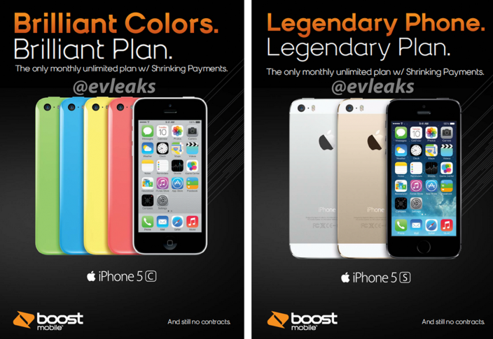 Boost Mobile To Offer Apple's iPhone 5s And iPhone 5c Beginning Nov. 8