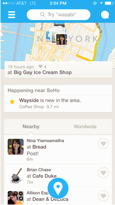 Foursquare Update Brings Real-Time Recommendations