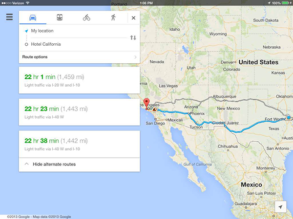 Google Maps Update Brings Faster Access To Navigation