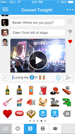 GroupMe Update Brings iOS 7 Inspired Design And Video Sharing