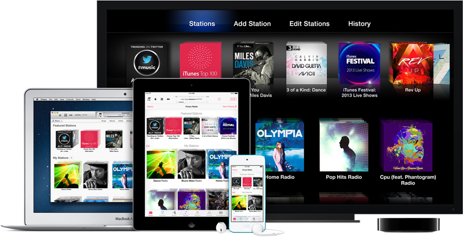 Apple To Expand iTunes Radio To Canada, UK, Australia And New Zealand In Early 2014