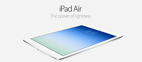 Supplies Of The iPad Air Are Expected To Be 'Plentiful' On Launch Day