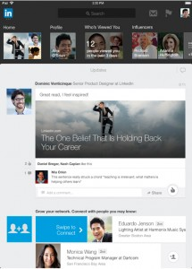 LinkedIn Unveils A Revamped iPad App With An iOS 7-Inspired Look