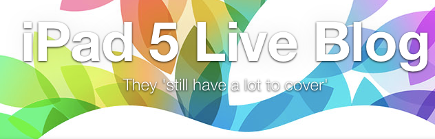 AppAdvice Live From Apple's 2013 iPad Event