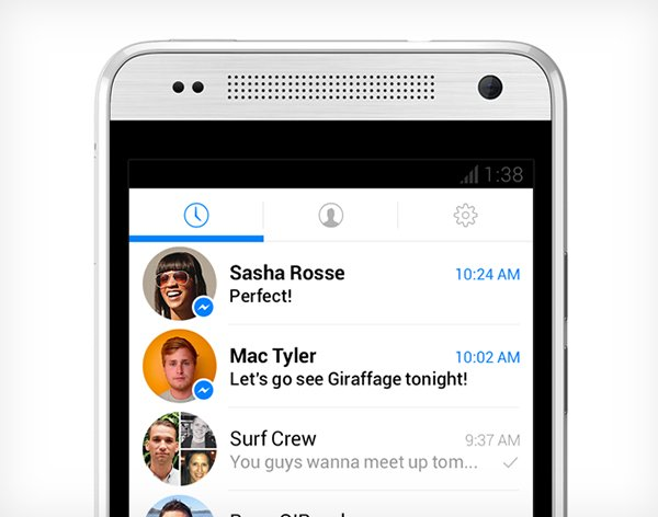 Facebook Previews Its Revamped Messenger App