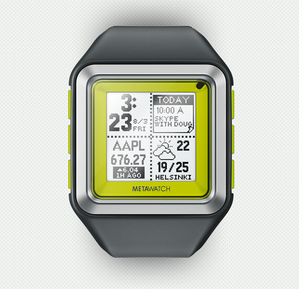 The iOS-Compatible MetaWatch Will Be Available At Best Buy Next Month