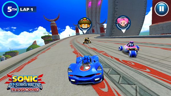 Sonic & All-Stars Racing Transformed Leads A Lineup Of New Sega iOS Games