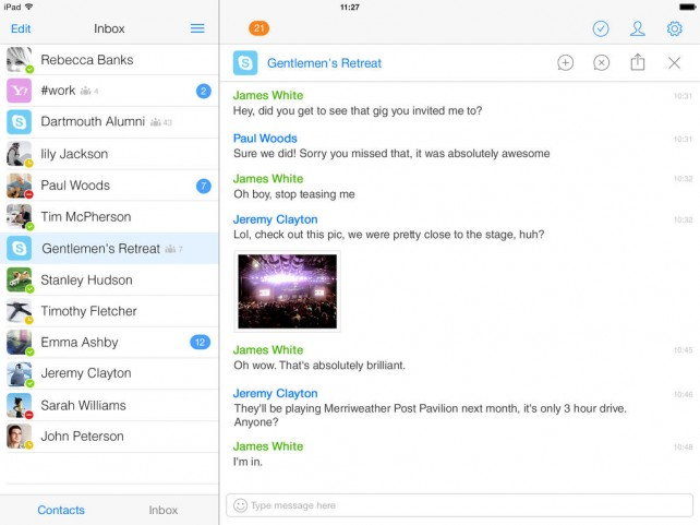 IM+ Pro7 Brings The iOS 7 Experience To Your Instant Messaging