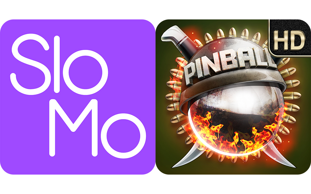 Today's Best Apps: TruSloMo And Tough Nuts Pinball