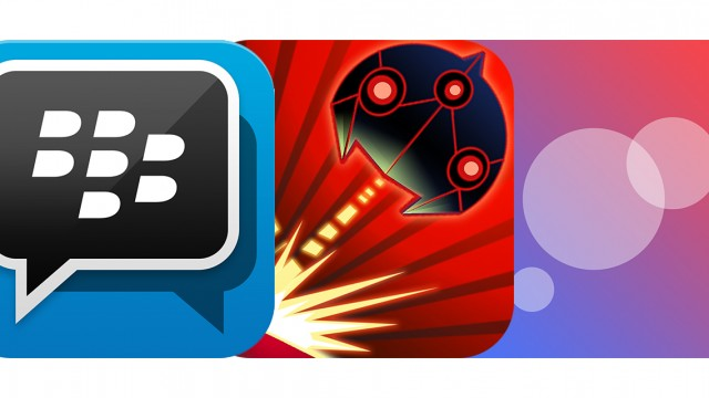 Today's Best Apps: BBM, Ricochet: Retro Space Shooter And Spores