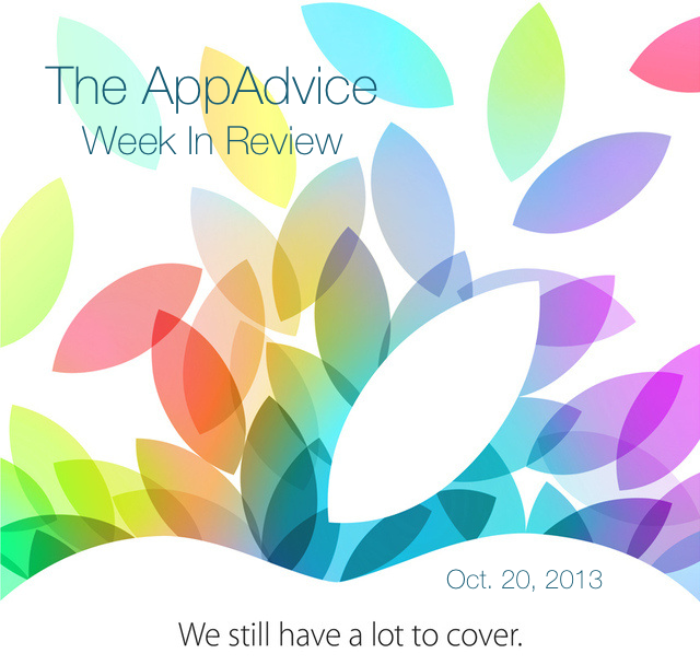 The AppAdvice Week In Review: Looking Ahead To Apple's Oct. 22 Special Event
