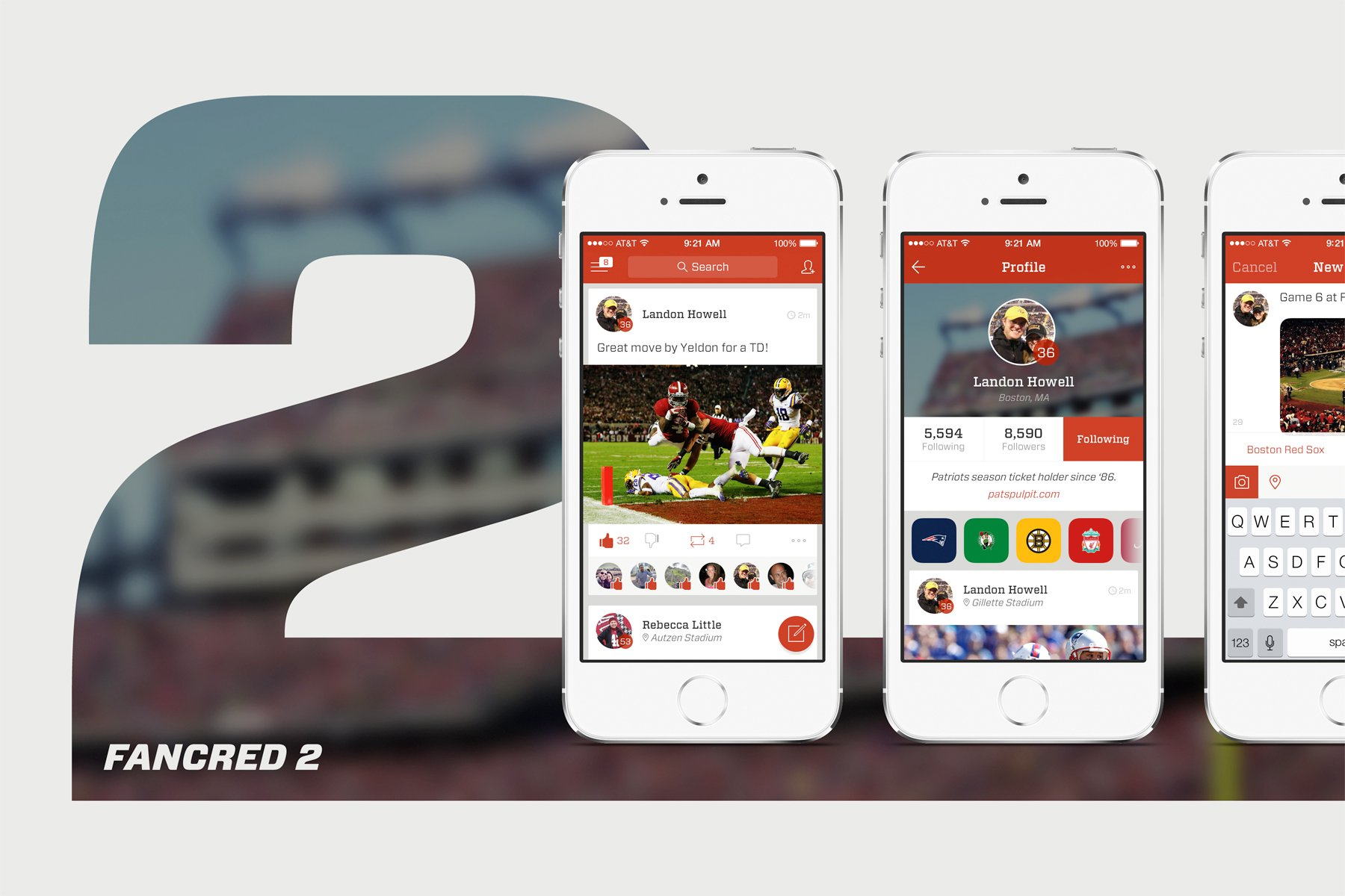 Sports Fans Are Flocking To Fancred 2.0 For iPhone