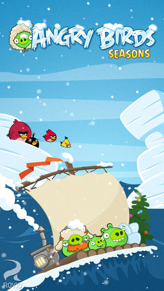Brrr! Go On An Arctic Eggspedition With Angry Birds Seasons' New Icy Levels