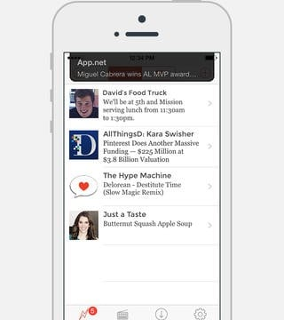 App.net Redesigns Official iOS App To Support New Broadcast Push Notification Feature