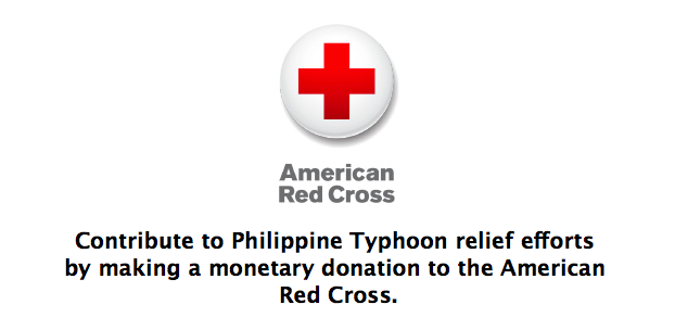 Apple Now Accepting Donations To Aid Philippine Typhoon Relief Efforts