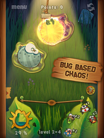 Tired Of Angry Birds? Try Playing With Angry Bugs In Chillingo's Beetle Breaker