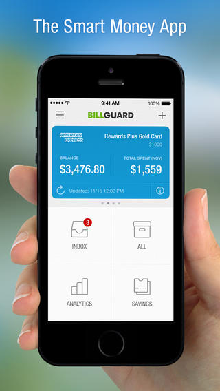 BillGuard 4.0 Features Spend Analytics, Streamlined Inbox And Smart Savings