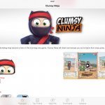A First For The App Store: Apple Features Clumsy Ninja With Embedded Game Trailer