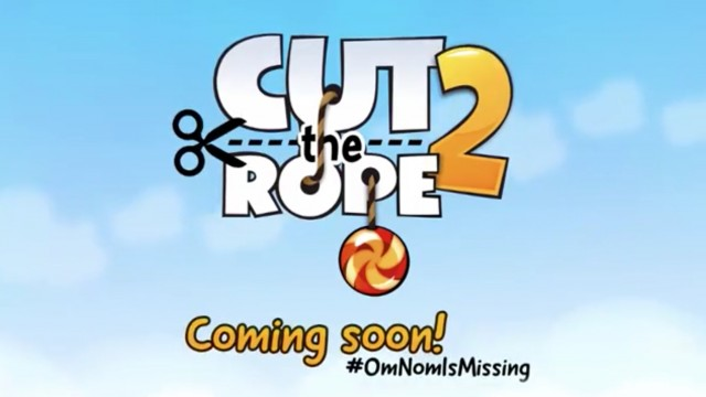 Check Out The First Teaser Trailer For Cut The Rope 2: Om Nom's Unexpected Adventure