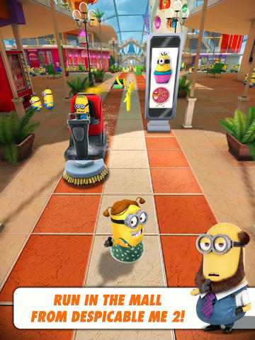 The Minions Go On A Destructive Shopping Spree In Despicable Me: Minion Rush