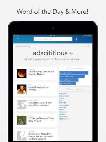 Dictionary.com Dictionary & Thesaurus For iPad Gets Updated For iOS 7