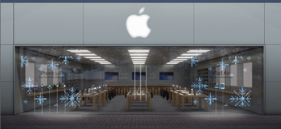 Apple Retail Stores Get Snowflake Storefront Design In Time For The Holidays
