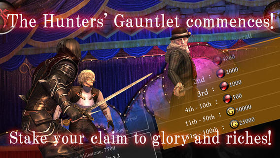 The Hunters' Gauntlet Commences In New Update For Square Enix's Bloodmasque