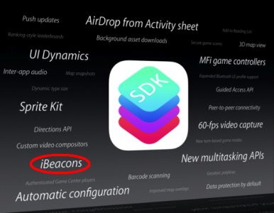 Apple Planning On Integrating iBeacon Technology Within Retail Stores