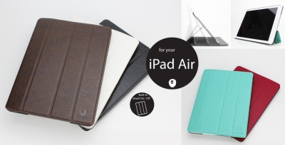 Lioncase Launches New Smart Case-Like Folio Shield For iPad Air
